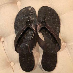 Tory Burch size 10 Thora bronze sandal